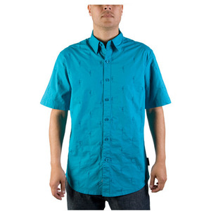 THE HUNDREDS BENNIGAN S/S BUTTON UP [2]