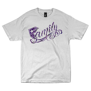 FAMOUS FAMILY LEAF MENS TEE WHT