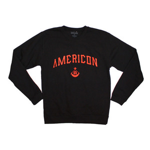 50%sale [Special Project] BLACK SCALE Americon Crewneck MH x BS