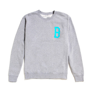 50%sale[Special Project] BLACK SCALE B-Logo Crewneck QS