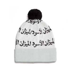 BLACK SCALE Scale of Black Beanie