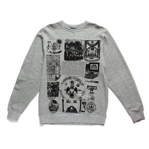 50%saleBLACK SCALE Societies Silent Secret Crewneck