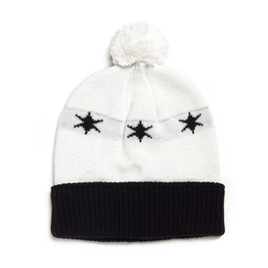 BLACK SCALE Luminary Beanie, White