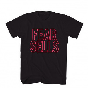 BLACK SCALE FEAR SELLS TEE BLK