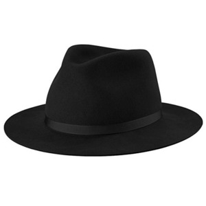 NEW YORK HAT 5305 FELT HOMESTEAD (BLACK)