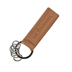 THE HUNDREDS LEATHER KEYCHAIN [2]
