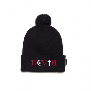 BLACK SCALE Mortem Beanie (Black)