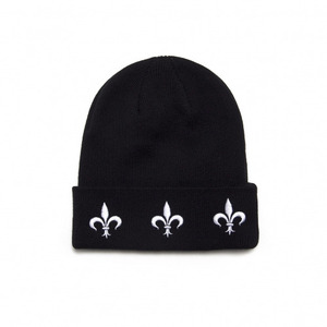 BLACK SCALE The Fleur Beanie (Black)
