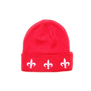 BLACK SCALE THE FLEUR BEANIE (RED)