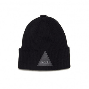 BLACK SCALE NOIR BEANIE (BLACK)