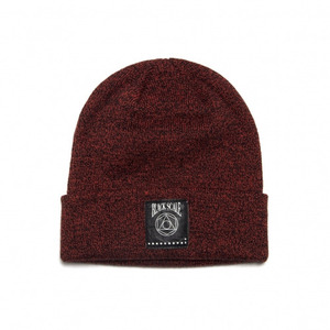 BLACK SCALE GEO LOGO BEANIE (RED)