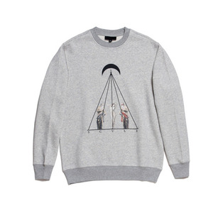 50%saleBLACK SCALE TIMELESS II CREWNECK (HEATHER GREY)