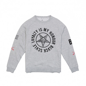 50%sale [Special Project] BLACK SCALE YOTG LOYALTY CREWNECK