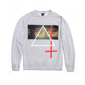 50%sale [Special Project] BLACK SCALE SHANGHAI QS - MONA VIOLATE CREWNECK