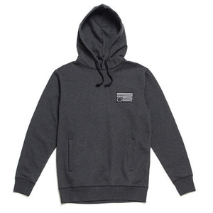 50%saleBLACK SCALE Rebel Patch Pullover Hoody (Black)