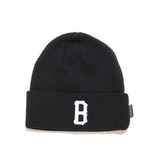 BLACK SCALE B Logo Beanie (Black)