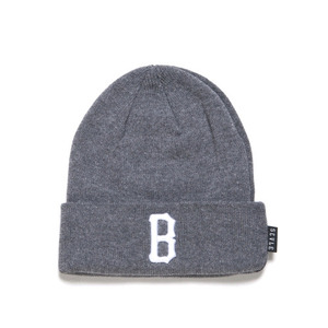 BLACK SCALE B Logo Beanie (Grey)