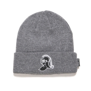 BLACK SCALE Knight Helmet Beanie (Grey)