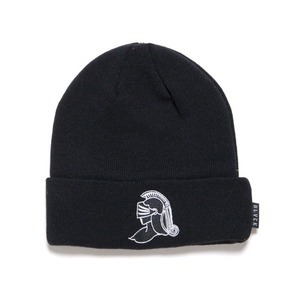 BLACK SCALE Knight Helmet Beanie (Black)