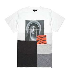 BLACK SCALE Withering T-Shirt (White)