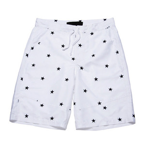 BLACK SCALE NEELEY SHORTS (WHITE)