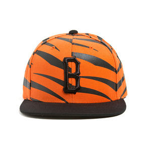 BLACK SCALE Bengal B Snapback Black