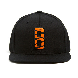 BLACK SCALE Tygertype Snapback Black