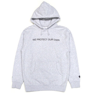 [QUICK STRIKE] BLACK SCALE WE PROTECT OUR OWN PULLOVER (GREY)