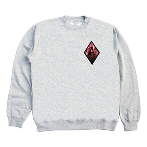[QUICK STRIKE] BLACK SCALE BLVCK REBELS CREW NECK (GREY)