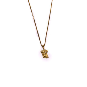 Design By TSS EXTRA MINI JESUS PIECE NECKLACE - GOLD