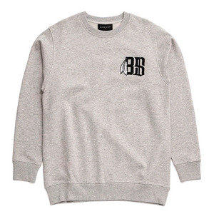 BLACK SCALE BoneFeather Crewneck (ALMOND)