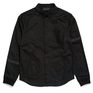 BLACK SCALE BALLISTIC BUTTON DOWN (BLACK)