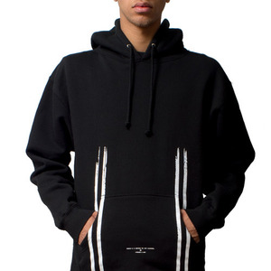 FRESH I AM Road OVERFIT Pullover Hoodie (BLACK)