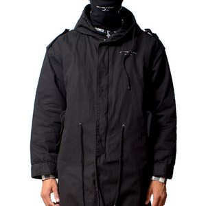 FRESH I AM ROAD OVERFIT PARKA (BLACK)