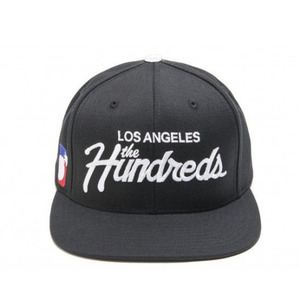 The Hundreds Forever Team Snapback (BLACK)