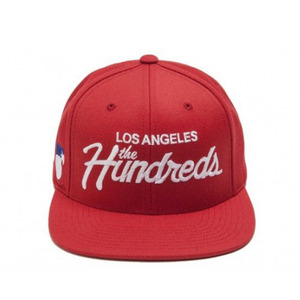 The Hundreds Forever Team Snapback (RED)