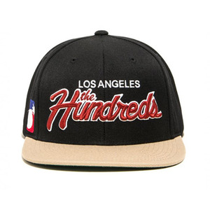 The Hundreds Team Two Snapback SP17 (BLACK)