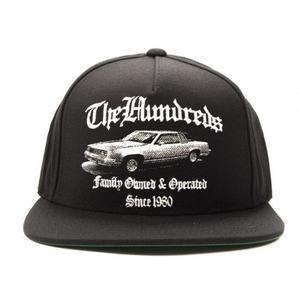 The Hundreds BROKE SNAPBACK (BLACK)