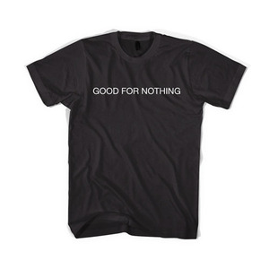 BLACKSCALE Good For Nothing T-Shirt BLACK