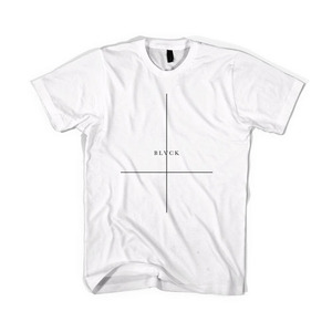 BLACKSCALE Crossed T-Shirt, White