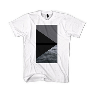BLACKSCALE Devil's Triangle T-Shirt, White