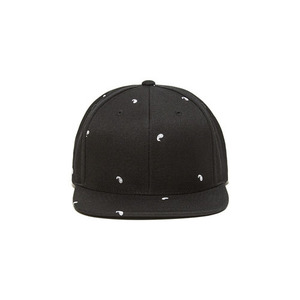 BLACKSCALE PAISLEY II SNAP BACK BLACK