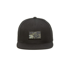 BLACKSCALE TIGER REBEL PATCH SNAP BACK BLACK
