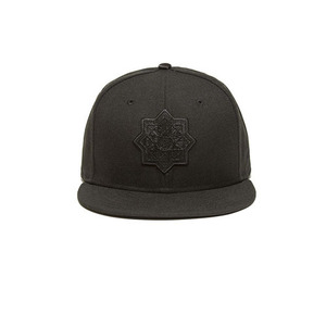 BLACKSCALE OCTO TREDIC BADGE SNAPBACK NEW ERA BLACK