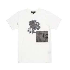 BLACKSCALE BEAUTY OF EVIL II T-SHIRT WHITE