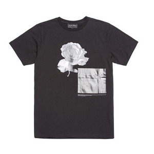 BLACKSCALE BEAUTY OF EVIL II T-SHIRT BLACK