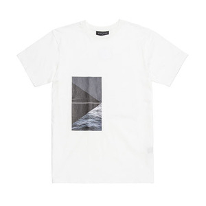 BLACKSCALE LANDSCAPE T-SHIRT WHITE