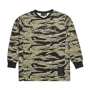 BLACKSCALE NATIONAL BMX JERSEY TIGER CAMO