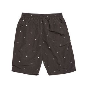 BLACKSCALE PAISLEY SHORTS BLACK