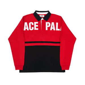PALACE P2 RUGBY RED / BLACK